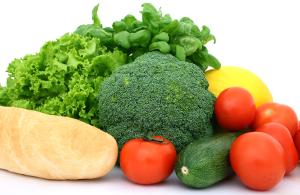 Co jeść  żeby schudnąć? - obrazek przedstawiający zdrowe produkty żywieniowe